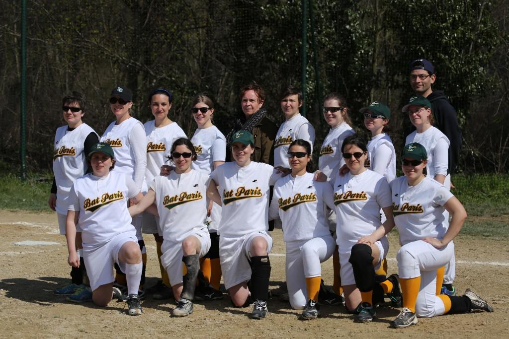 photo equipe feminin IDF