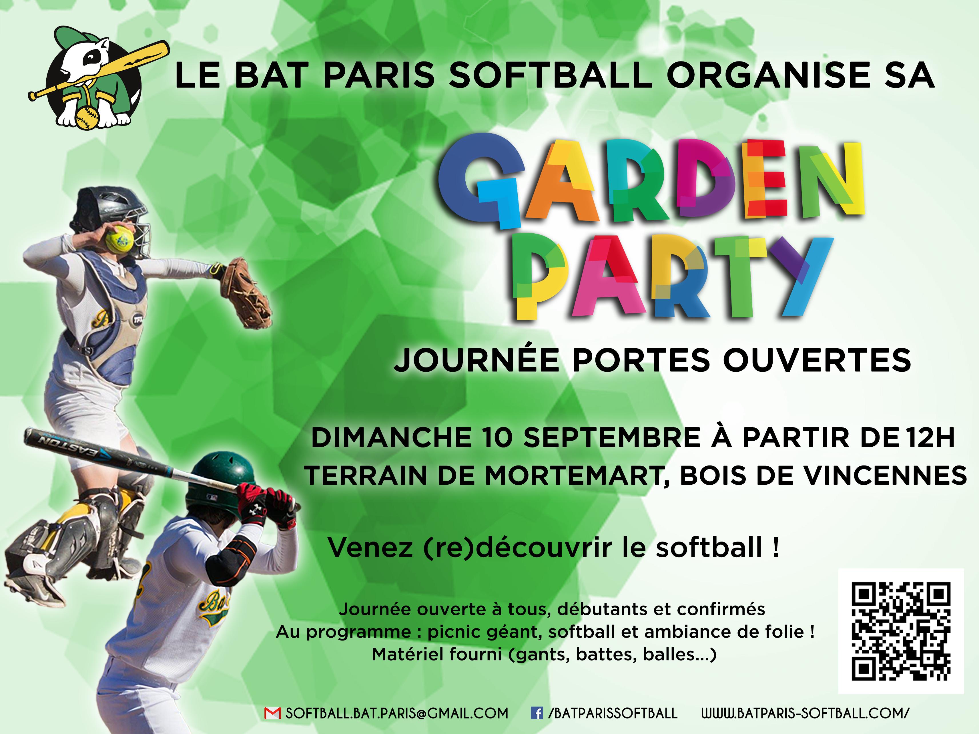 Affiche Garden Party 2017